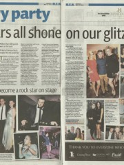 Manchester Evening News Diary Party