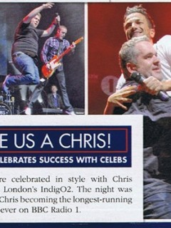 MOYLES TOUR in OK Magazine