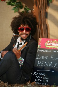 FREE SINGLE USAGE : Lewis Floyd Henry playing in the Gaymers Lost in the Orchard at Latitude this weekend ***Pic by David McHugh 07768 721637***
