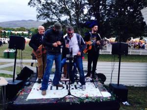 Acoustaoke @ Festival No.6 2015