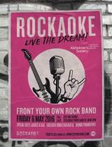 Rockaoke in aid of the Alzheimer's Society