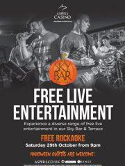 Rockaoke @ Aspers Casino, Stratford