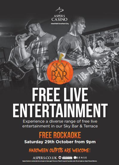 Rockaoke @ Aspers Casino